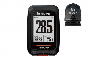 BRYTON Compteur GPS RIDER 310C