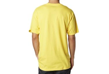 FOX T-Shirt LEGACY FOXHEAD Jaune