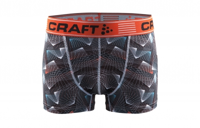 CRAFT Boxer Homme GREATNESS 3´´ Motif Orange