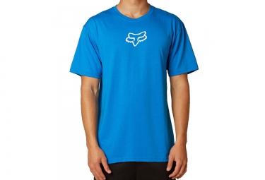 FOX Tee Shirt Manches courtes TOURNAMENT Bleu Blanc