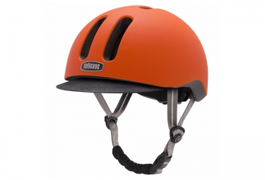 Casque Bol NUTCASE METRORIDE Orange Mat