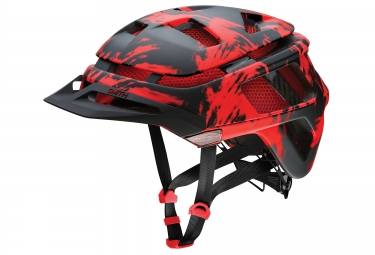 SMITH Casque FOREFRONT Noir Rouge Mat