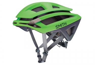 SMITH Casque OVERTAKE Vert Mat Gris