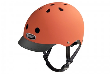 Casque Bol NUTCASE STREET Orange Mat