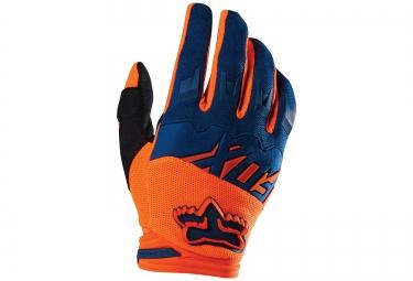 FOX Paire de gants DIRTPAW RACE Bleu Orange