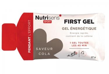NUTRISENS Gel énergétique FIRST Cola 27g