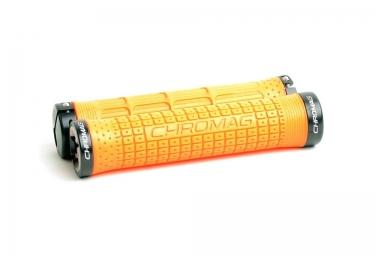 CHROMAG Poignées Lock-on CLUTCH 146mm Orange