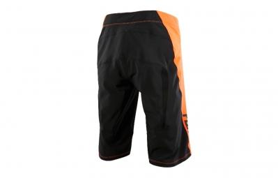 FOX Short ATTACK Q4 Orange Noir