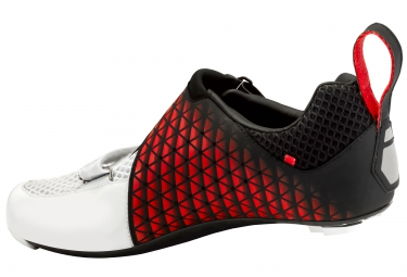 Chaussures Triathlon SUPLEST EDGE 3 PERFORMANCE Noir Blanc Rouge