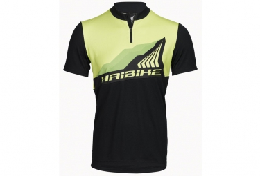 Maillot Manches Courtes HAIBIKE ALL MOUNTAIN Vert Noir