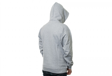 Sweat à Capuche THRASHER FLAME LOGO Gris