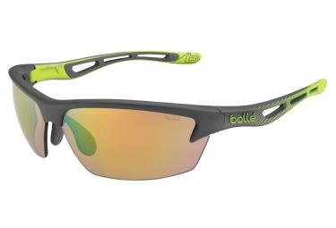 Lunettes Bollé BOLT S Noir/Vert Vert UV Catégorie 3
