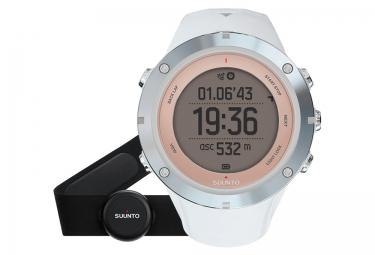 SUUNTO Montre GPS AMBIT3 SPORT HR Sapphire + Ceinture cardiaque Smart Sensor