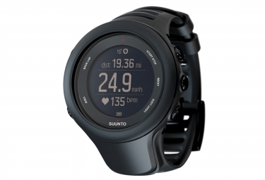 SUUNTO Montre GPS AMBIT3 SPORT HR Noir + Ceinture cardiaque Smart Sensor