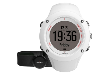 Montre GPS Suunto AMBIT3 RUN HR Smart Sensor Blanc