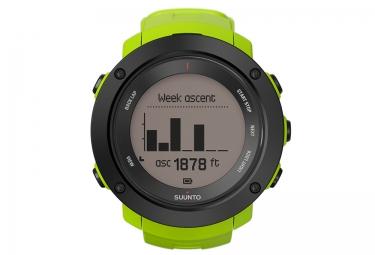 SUUNTO Montre GPS AMBIT3 VERTICAL Lime