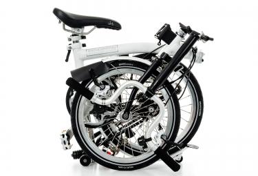 Vélo Pliant BROMPTON H3L 3 Vitesses Blanc