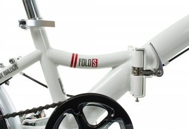 Vélo Pliant Raleigh FOLD-S 20'' Blanc