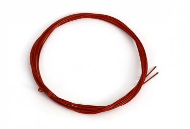 2 Cables de Dérailleur MSC Rouge