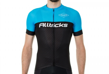 Maillot Manches Courtes ALLTRICKS By ISANO 2016 Noir Bleu