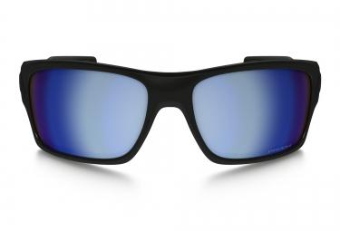 Lunettes Oakley TURBINE Noir Bleu Prizm H2O/Polarisé