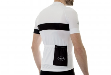 Maillot Manches Courtes ISANO 2016 CLASSIQUE Blanc