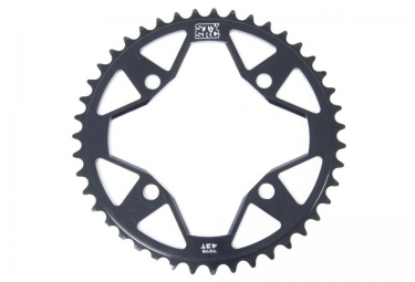 Couronne BMX 4 Points STAY STRONG RACE Noir