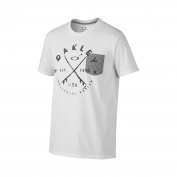 T-Shirt OAKLEY STOKED Blanc