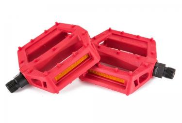 Pédales Plates SALT JR 9/16 Rouge