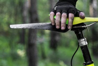 ASS SAVERS Garde Boue Pliable LARGE Noir