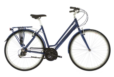 Vélo de Ville RALEIGH PIONEER LOW STEP Shimano Revo 18V Bleu
