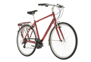 Vélo de Ville Raleigh PIONEER 2 CROSSBAR 700mm Rouge