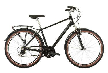 Vélo de Ville Raleigh PIONEER Trail CROSSBAR 27.5'' Noir