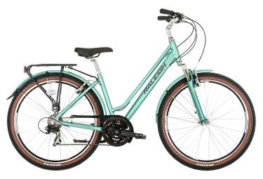 Vélo de Ville Femme Raleigh PIONEER Trail CROSSBAR Bleu