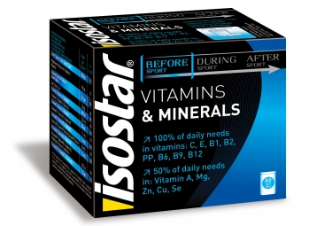 ISOSTAR Complément alimentaire 360 VITAMINES MINERALS