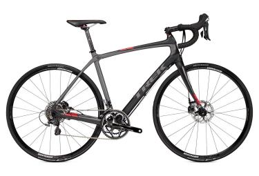Vélo Route TREK DOMANE 4.5 DISC 2016 Shimano Ultegra 11 Vitesses Gris