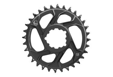Plateau SRAM X-SYNC EAGLE Direct Mount 6mm Offset 12 Vitesses Noir