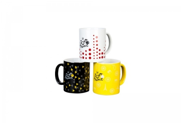 TOUR DE FRANCE Lot de 3 MUGS Céramique 2016