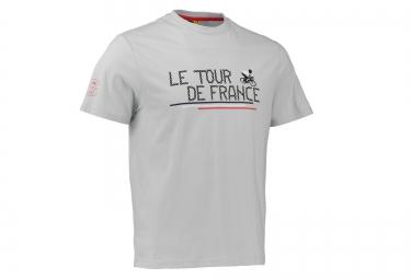 T-shirt LE TOUR DE FRANCE CHAINE DE VELO Gris