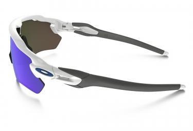 Lunettes OAKLEY RADAR EV PATH Blanc - Bleu Iridium Réf OO9208-17