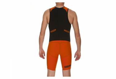 Combinaison de Triathlon ARENA CARBON PRO Orange Noir