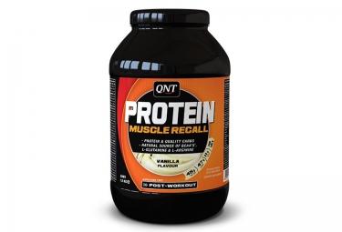 QNT Boisson Protéinée PROTEIN MUSCLE RECALL Vanille 1,5kg