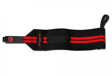 Bande de Force EXCELLERATOR WRIST SUPPORT Noir Rouge 30cm