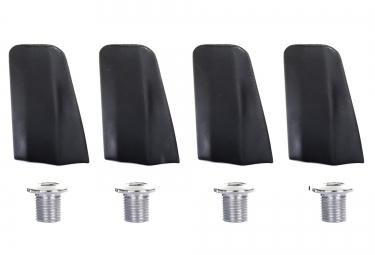 Caches et Visserie (X4) SPECIALITES TA pour Plateaux x110 105 - 5800 Noir