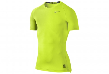NIKE Maillot PRO COOL COMPRESSION Vert
