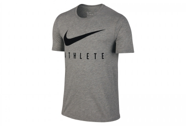 NIKE Maillot SWOOSH ATHLETE Gris Homme