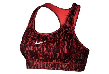 Brassière NIKE VICTORY COMPRESSION SCREEN FUZZ Rouge