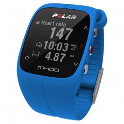 Polar Montre M400 GPS Sans ceinture Bleu