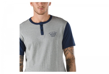 VANS T-Shirt HITSON Gris Bleu