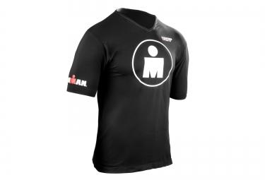 T-shirt COMPRESSPORT IRONMAN Running Mdot Noir